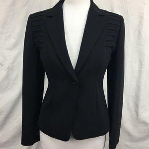 Calvin Klein Black Suiting Jacket Blazer Sz 2